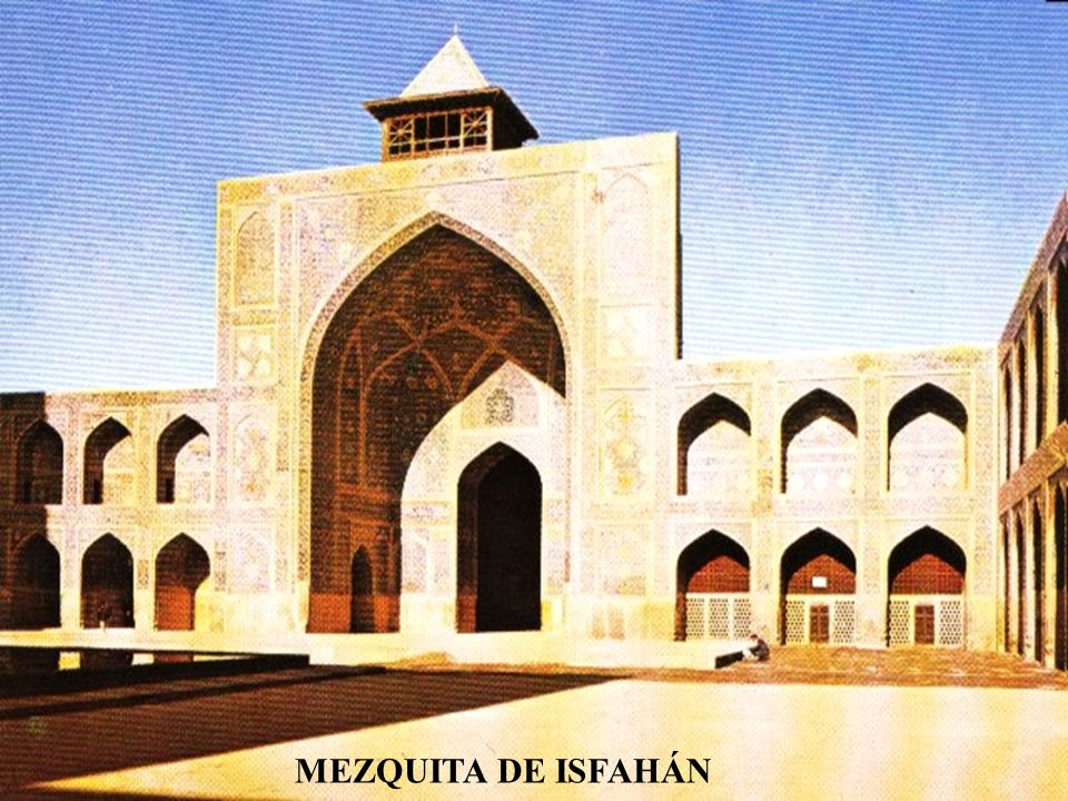 MEZQUITA DE ISFAHÁN