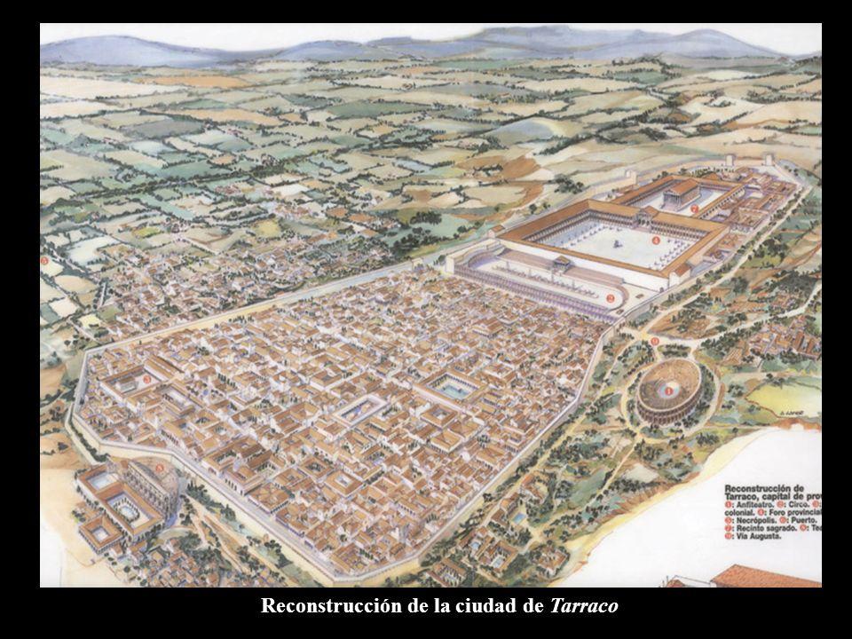 Reconstrucción de la ciudad de Tarraco