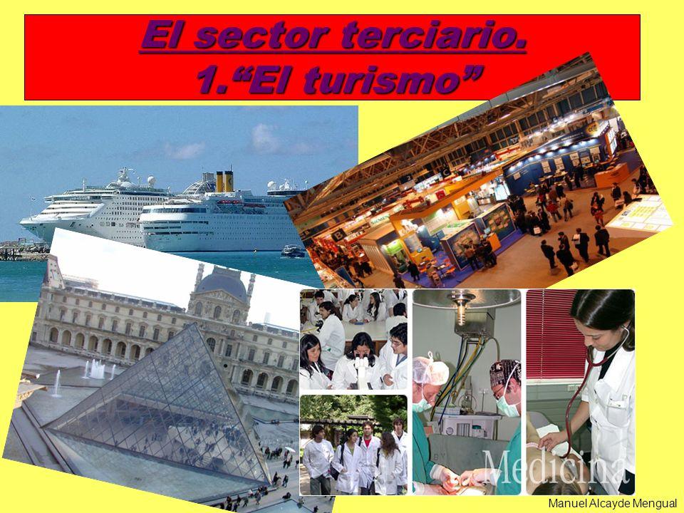 El sector terciario. 1.El turismo Manuel Alcayde Mengual