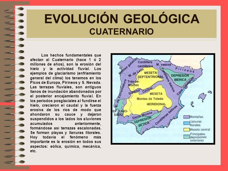 CUENCAS SEDIMENTARIAS POSTALPINAS EVOLUCIÓN GEOLÓGICA CUATERNARIO