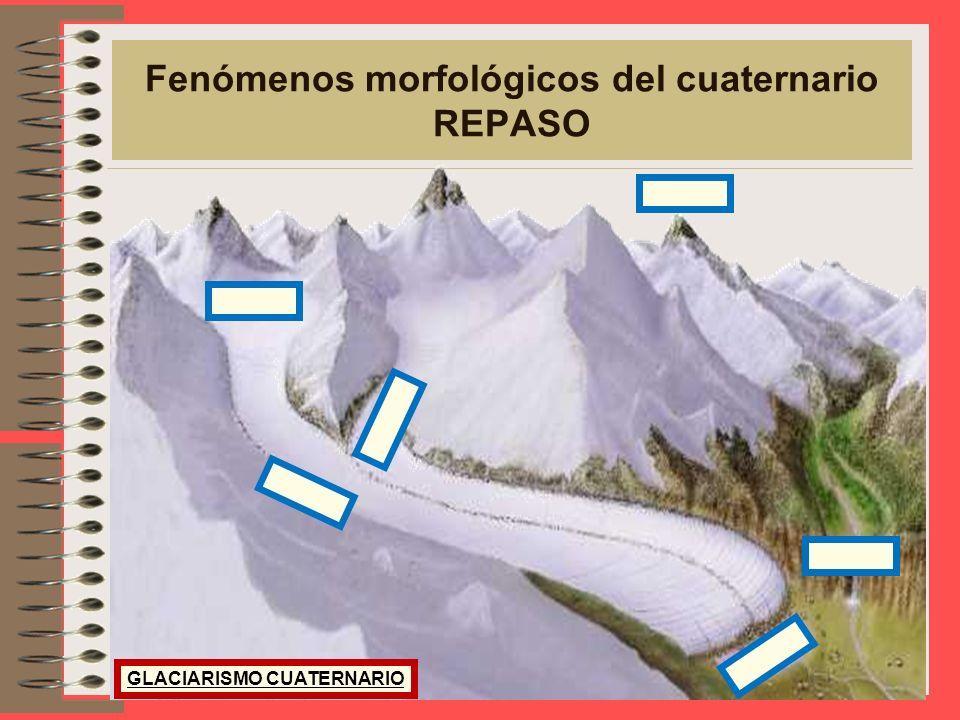EVOLUCIÓN GEOLÓGICA Fenómenos morfológicos del cuaternario PLAYAS LLANURA LITORAL