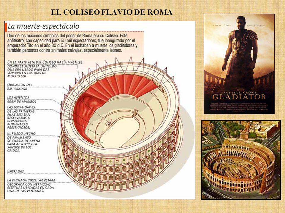 EL COLISEO FLAVIO DE ROMA