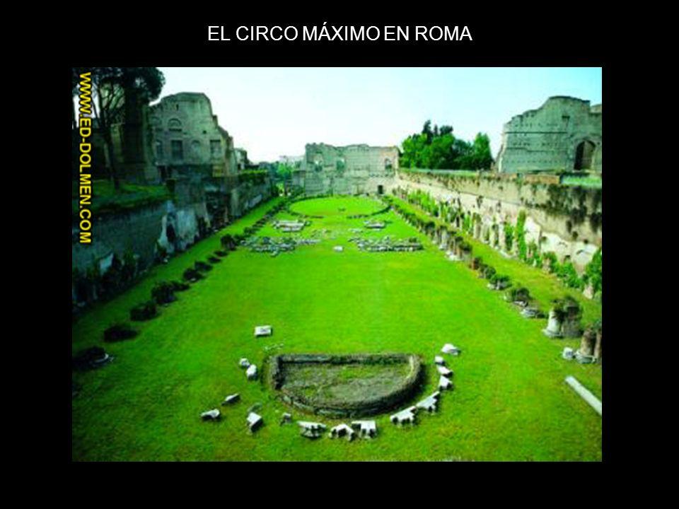 EL CIRCO MÁXIMO EN ROMA