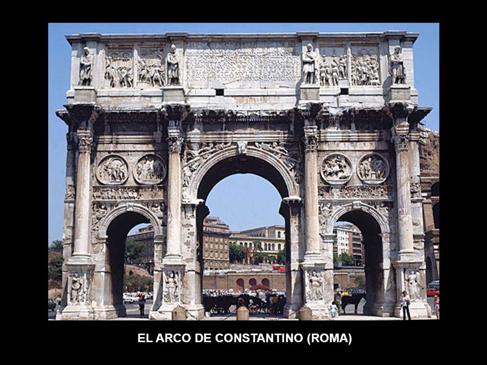 EL ARCO DE CONSTANTINO (ROMA)