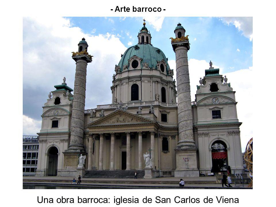 - Arte barroco - Una obra barroca: iglesia de San Carlos de Viena