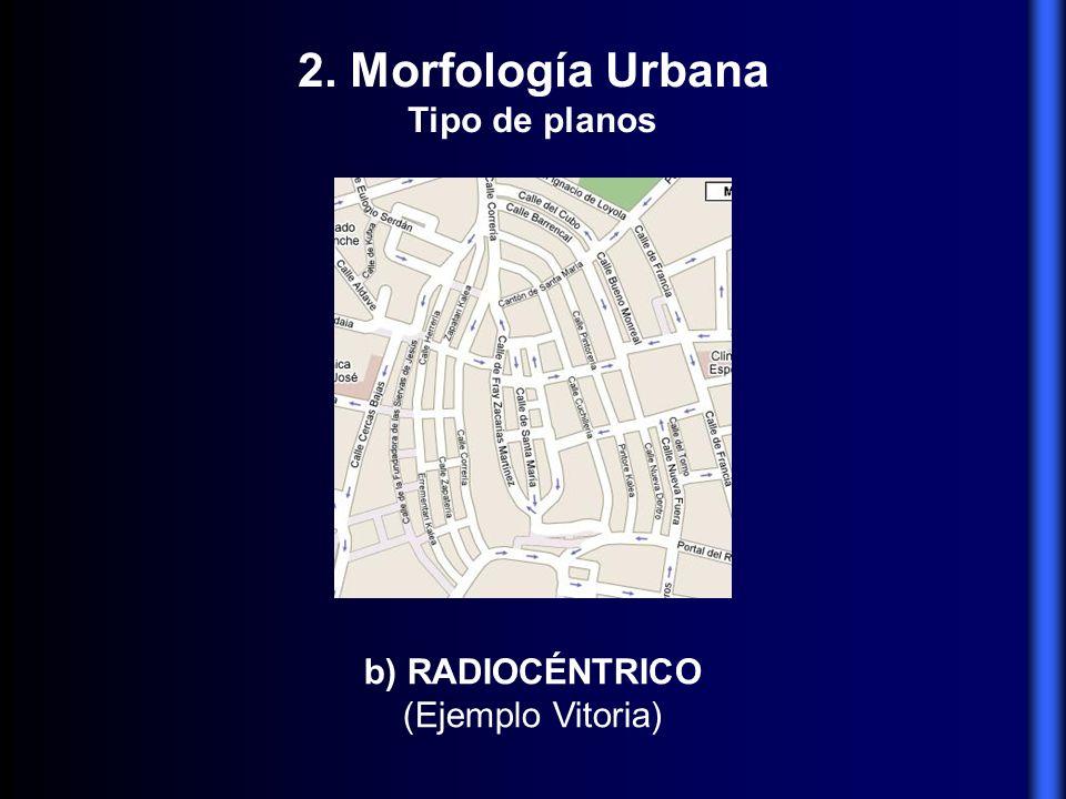 c) ORTOGONAL, EN CUADRÍCULA, EN DAMERO, HIPODÁMICO, RETICULAR (Ejemplo Barcelona) 2.