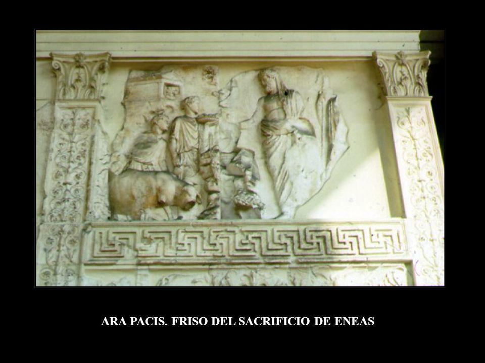 ARA PACIS. FRISO DEL SACRIFICIO DE ENEAS