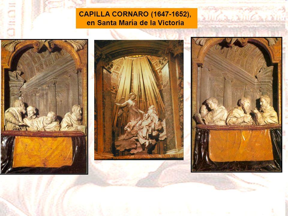 CAPILLA CORNARO (1647-1652), en Santa María de la Victoria