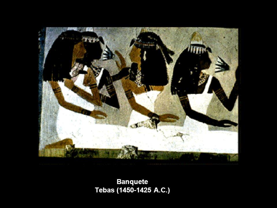 Banquete Tebas (1450-1425 A.C.)