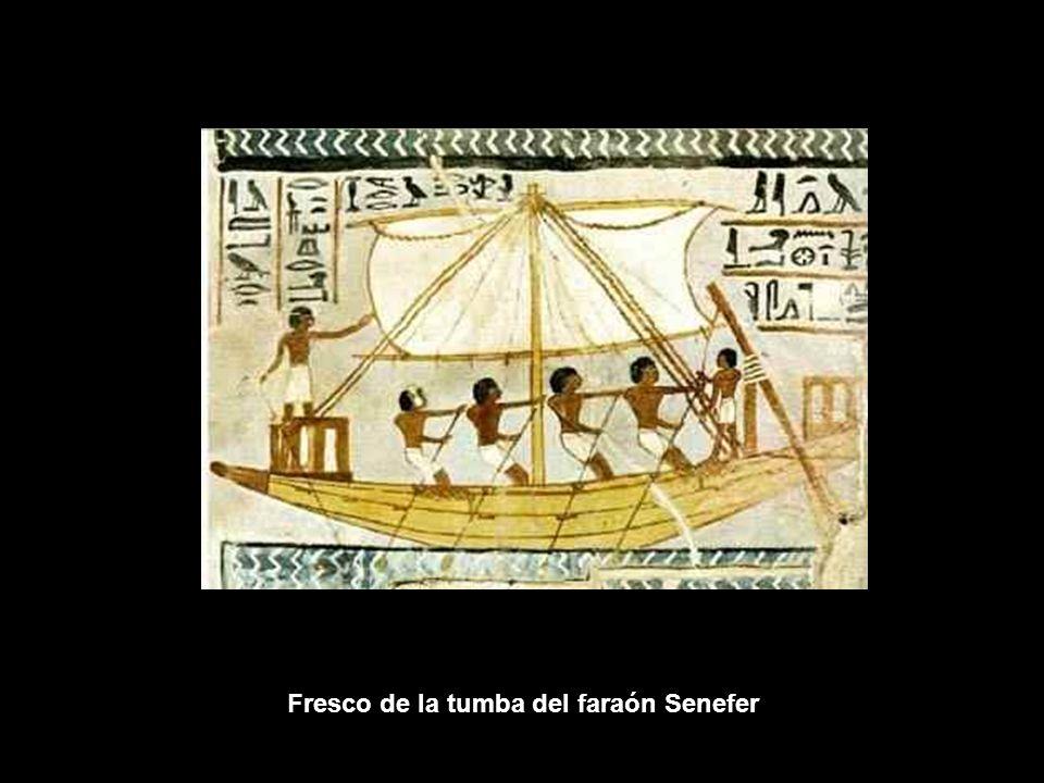 Fresco de la tumba del faraón Senefer