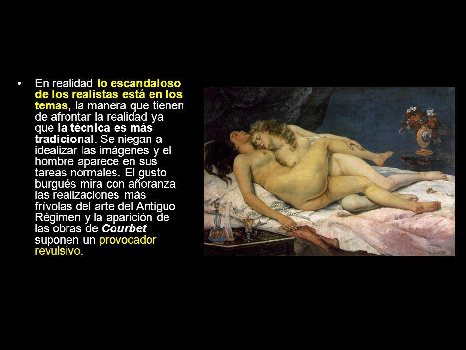 Los pintores realistas.Gustave Courbet (1819- 1877).