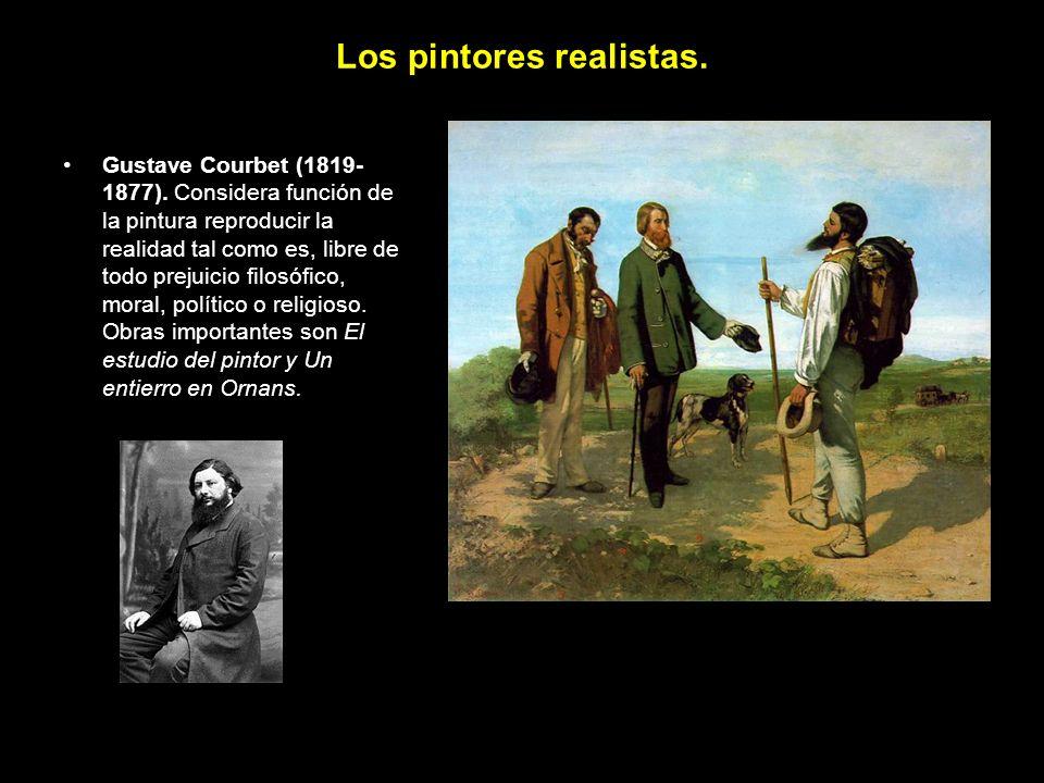 Los pintores realistas. Gustave Courbet (1819- 1877).