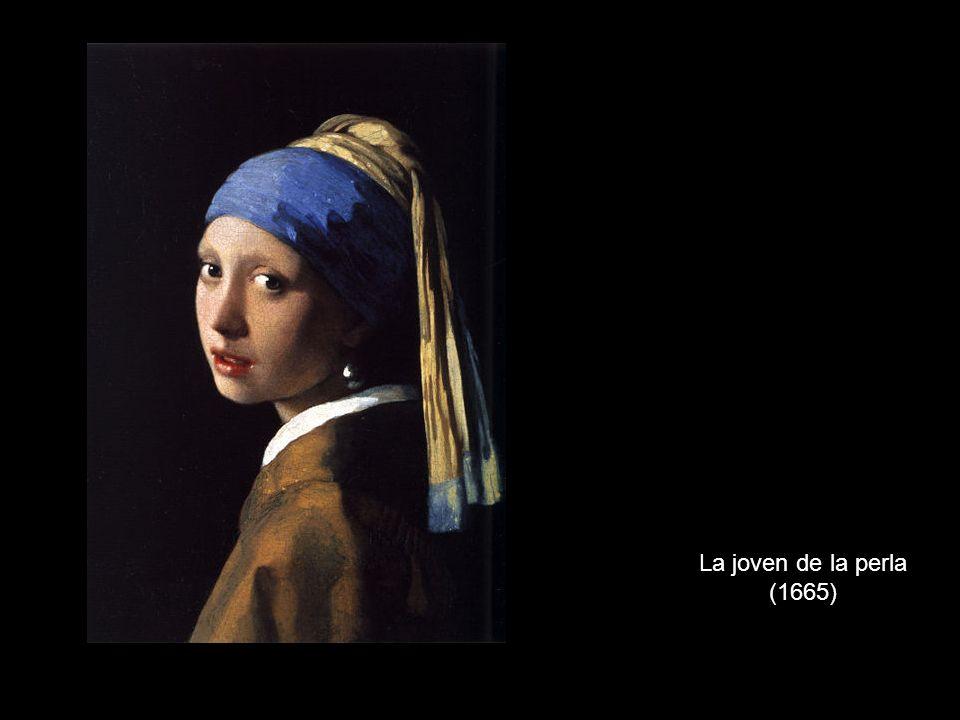 La joven de la perla (1665)