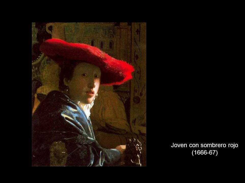 Joven con sombrero rojo (1666-67)