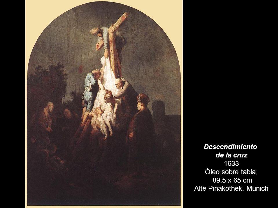 Descendimiento de la cruz 1633 Óleo sobre tabla, 89,5 x 65 cm Alte Pinakothek, Munich