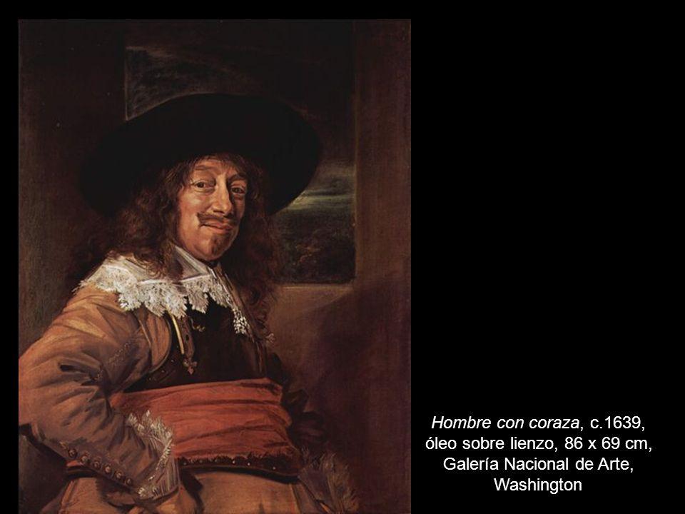 Hombre con coraza, c.1639, óleo sobre lienzo, 86 x 69 cm, Galería Nacional de Arte, Washington