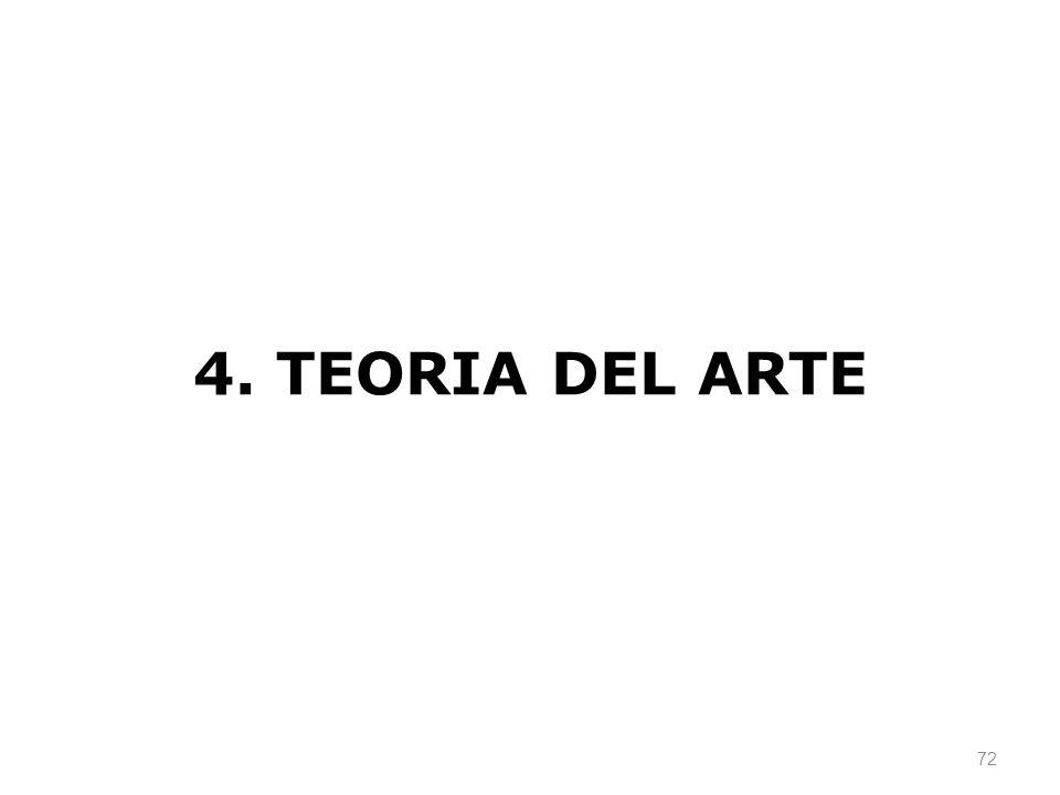 72 4. TEORIA DEL ARTE