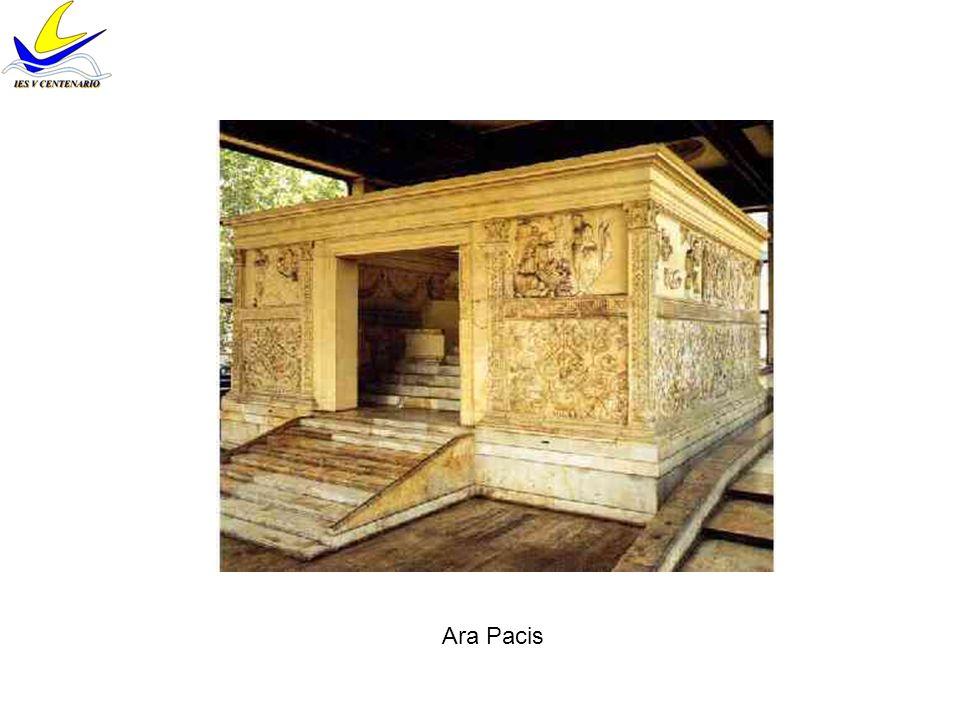 Familia de Augusto Ara Pacis Livia Marcus Agripa