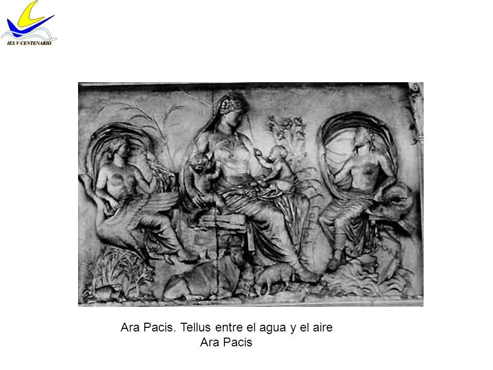 Relieve del Arco de Tito Superposición de planos para crear profundidad Se capta aire interpuesto Representa la derrota de los judios a manos de los romanos (expolio del templo de Salomón)