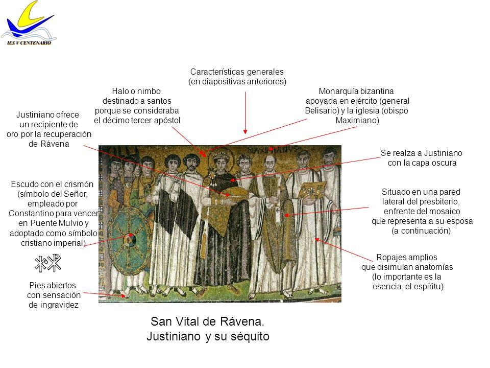 San Vital de Rávena.