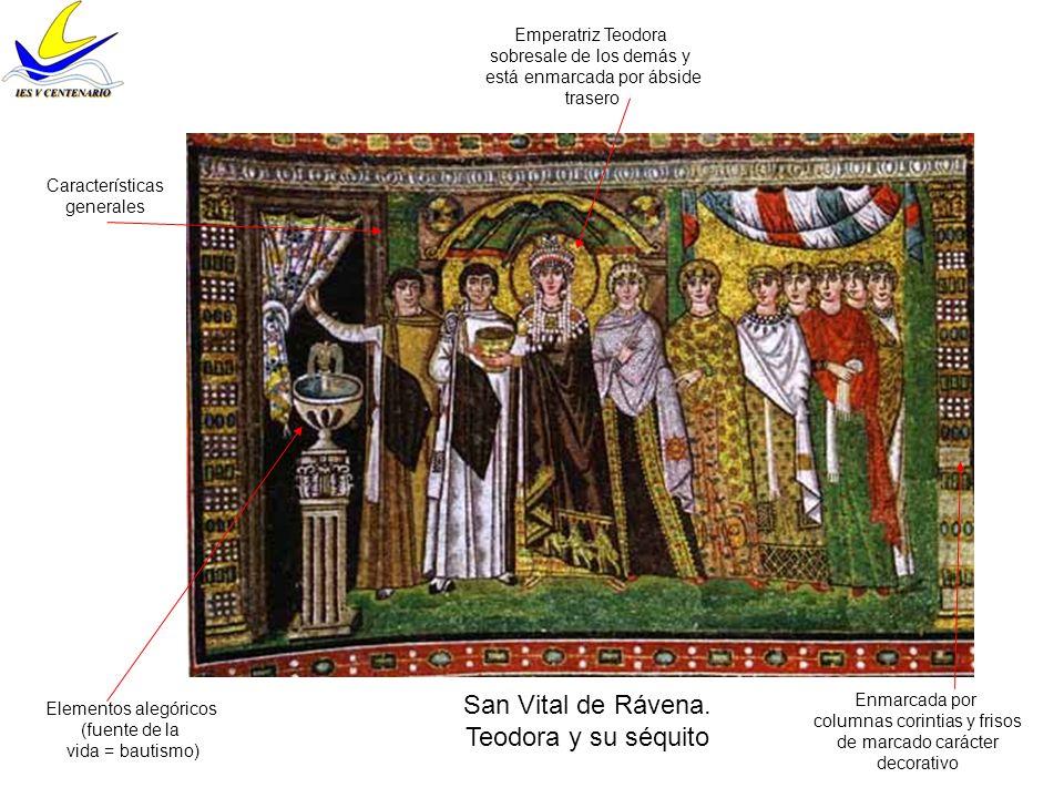 San Vital de Rávena.Ábside.