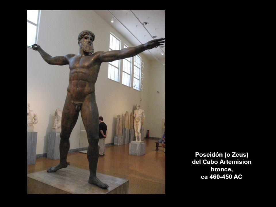 Poseidón (o Zeus) del Cabo Artemision bronce, ca 460-450 AC