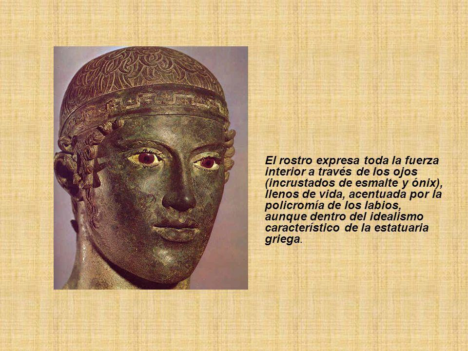FIGURAS DE BRONCE (GUERREROS DE RIACE) 460 - 450 a.C.