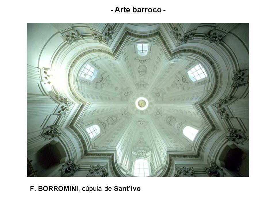 F. BORROMINI, cúpula de SantIvo - Arte barroco -