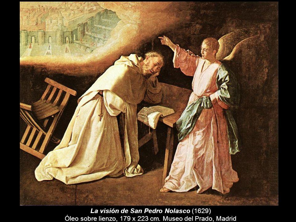 La visión de San Pedro Nolasco (1629) Óleo sobre lienzo, 179 x 223 cm. Museo del Prado, Madrid