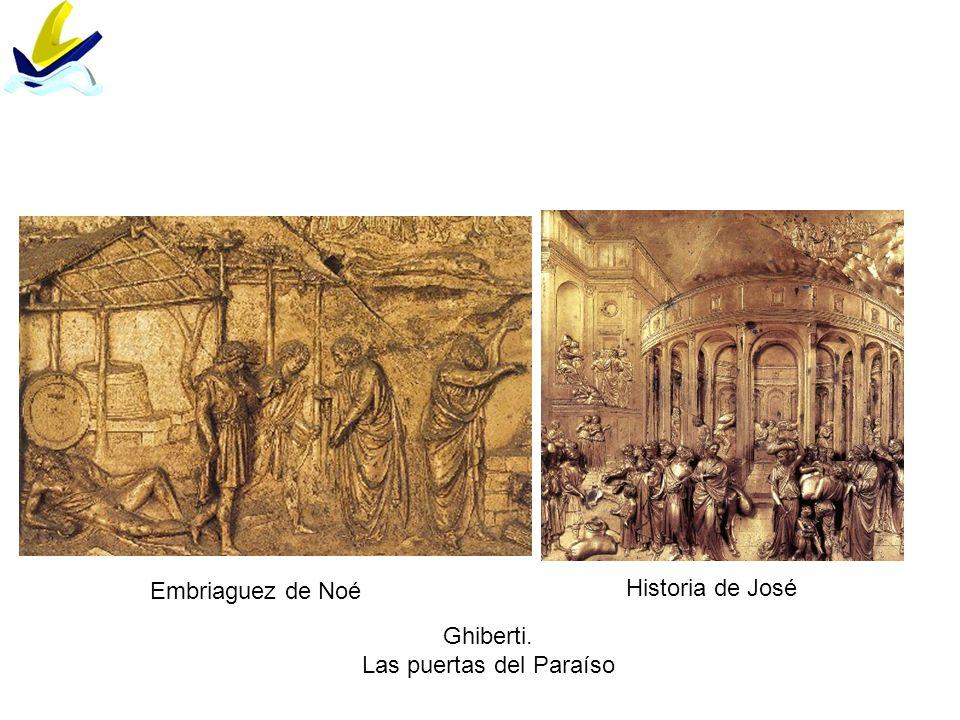 Embriaguez de Noé Historia de José Ghiberti. Las puertas del Paraíso