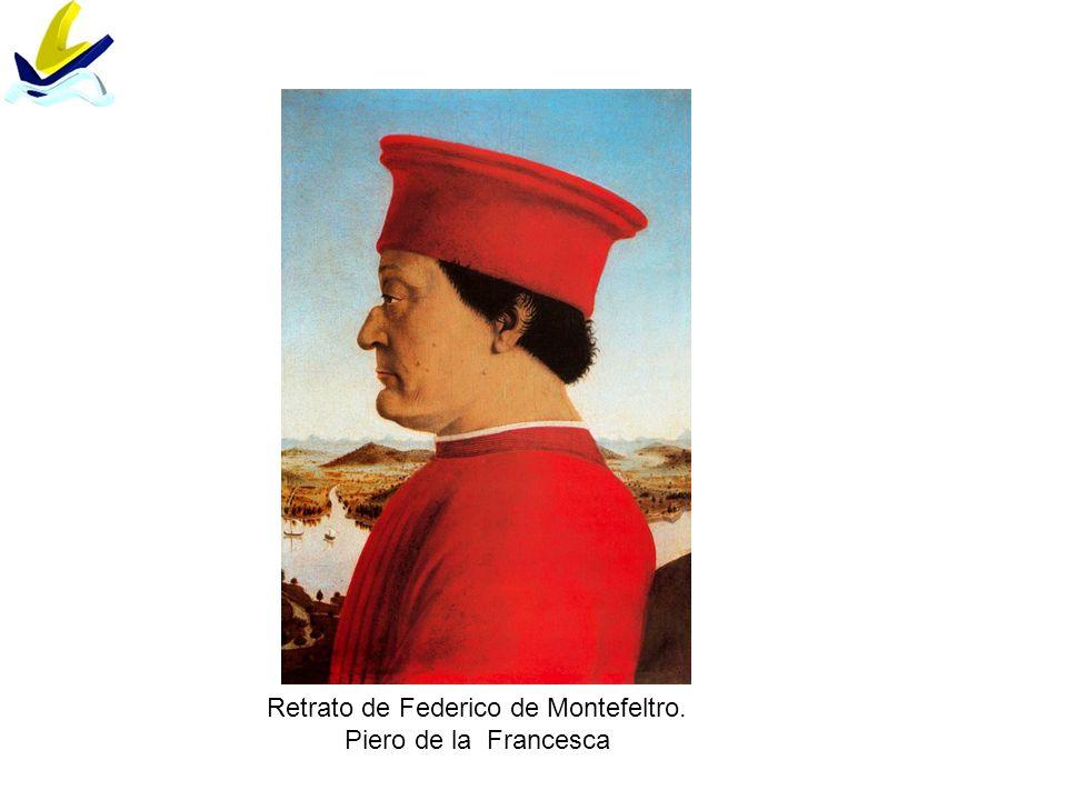 Retrato de Federico de Montefeltro. Piero de la Francesca