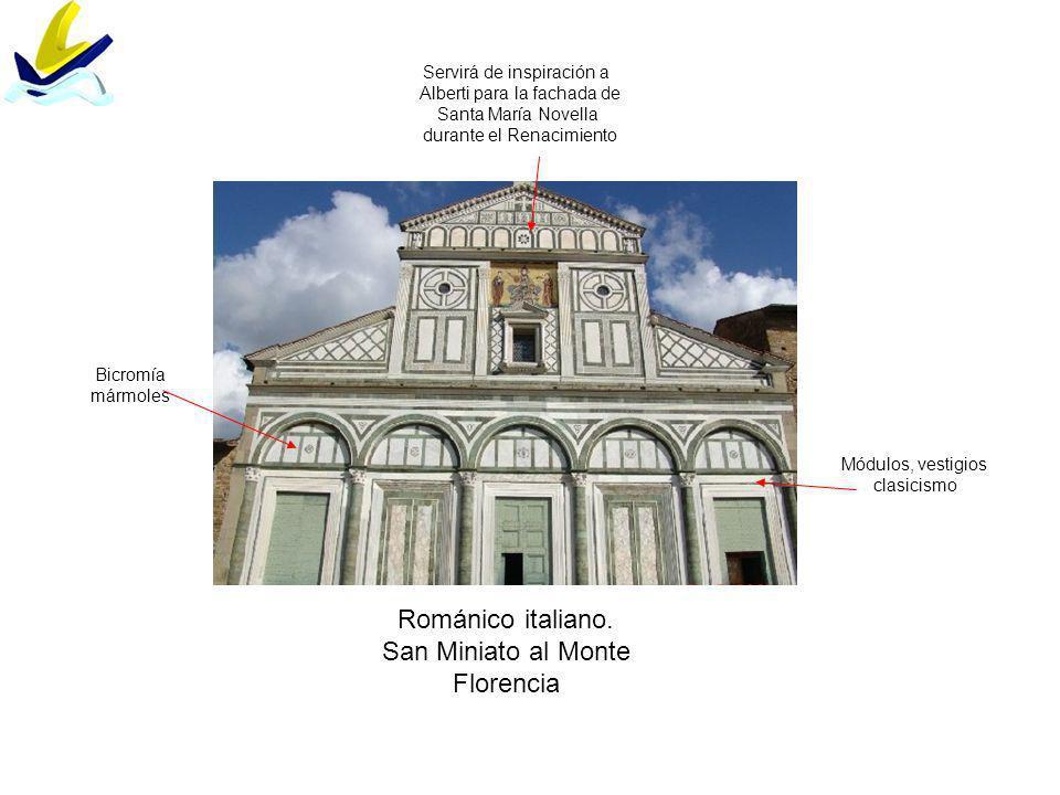 Románico italiano.