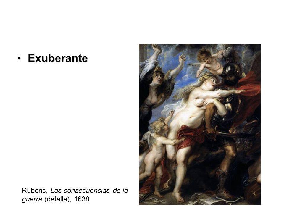 ExuberanteExuberante Rubens, Las consecuencias de la guerra (detalle), 1638