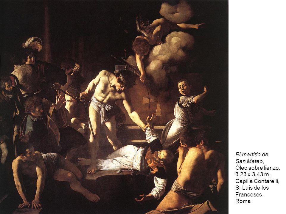 El martirio de San Mateo, Óleo sobre lienzo.3.23 x 3.43 m.
