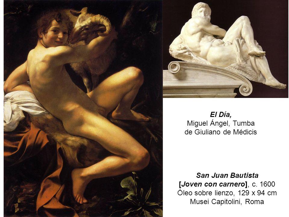 San Juan Bautista [Joven con carnero], c.