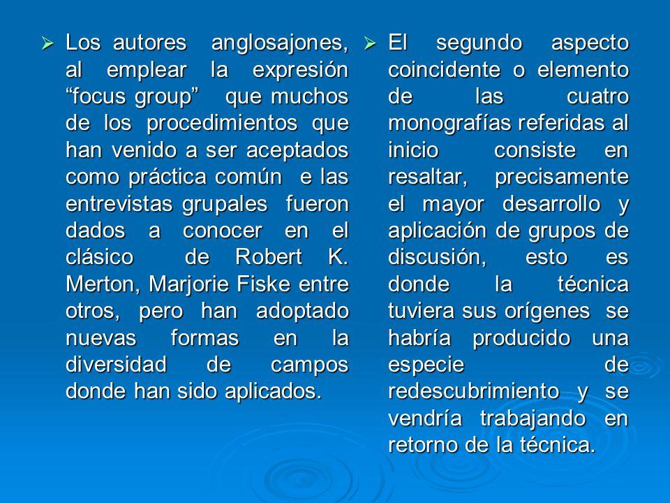 EJEMPLO DE ANALISIS E INFORME FINAL DE GRUPOS DE DISCUSIÓN, EN EL CAMPO DE LA INVESTIGACIÓN SOCIAL.