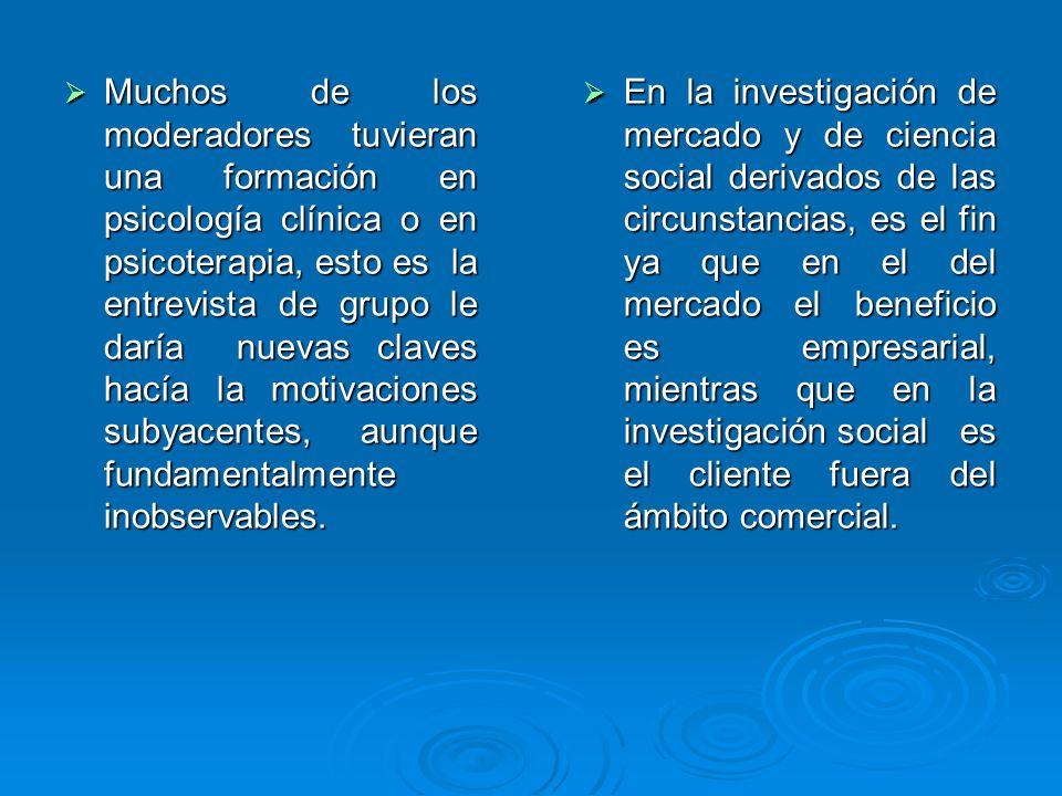 REFLEXIÓN DE ORTI SOBRE LA HISTORIA DE GRUPO DE DISCUSIÓN DE LOS ESTUDIOS DE MERCADO A LA INVESTIGACIÓN SOCIOLÓGICA.