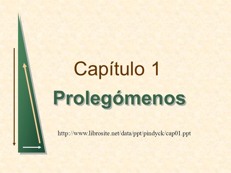 Capítulo 1 Prolegómenos http://www.librosite.net/data/ppt/pindyck/cap01.ppt
