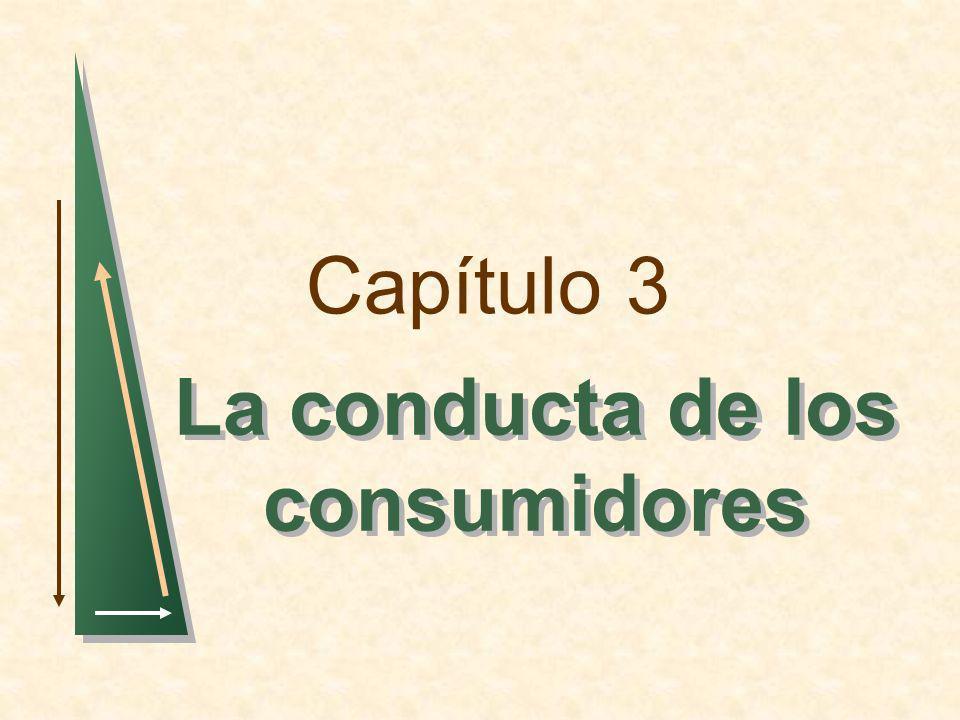 Capítulo 3 La conducta de los consumidores