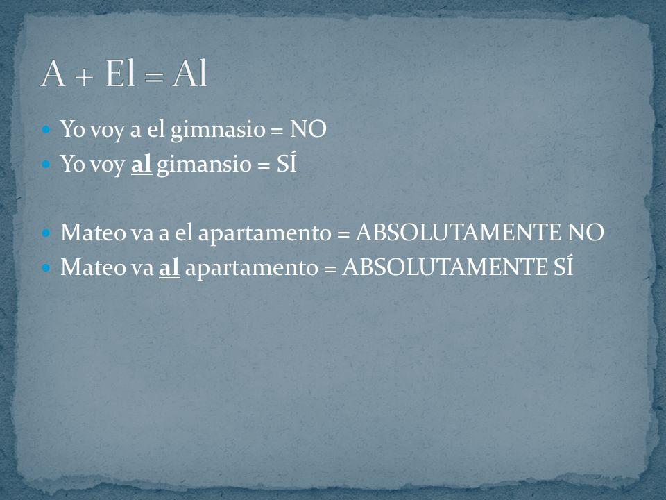 Para hablar de acciones en el futuro: conjugación de ir + a + infinitivo Ejemplos: Yo voy a estudiar.