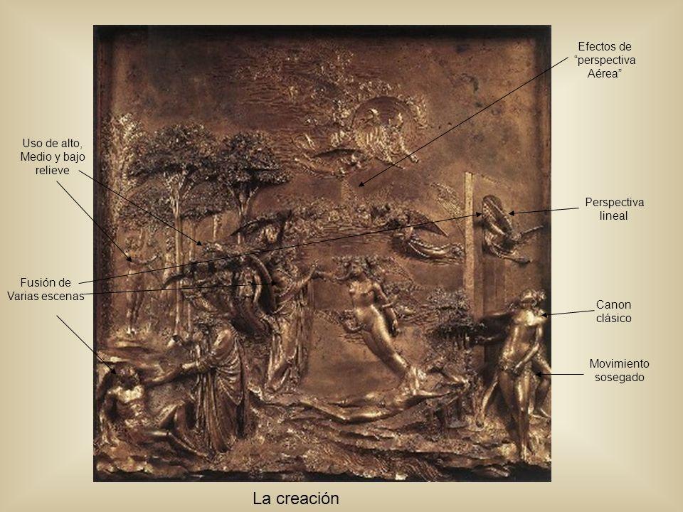 Efectos de perspectiva Aérea Perspectiva lineal Canon clásico Movimiento sosegado Fusión de Varias escenas Uso de alto, Medio y bajo relieve La creaci
