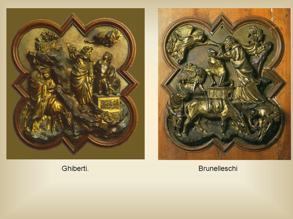 Ghiberti.Brunelleschi
