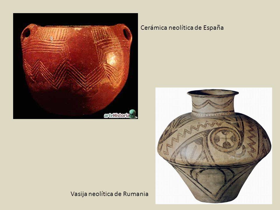 Cerámica neolítica de España Vasija neolítica de Rumania