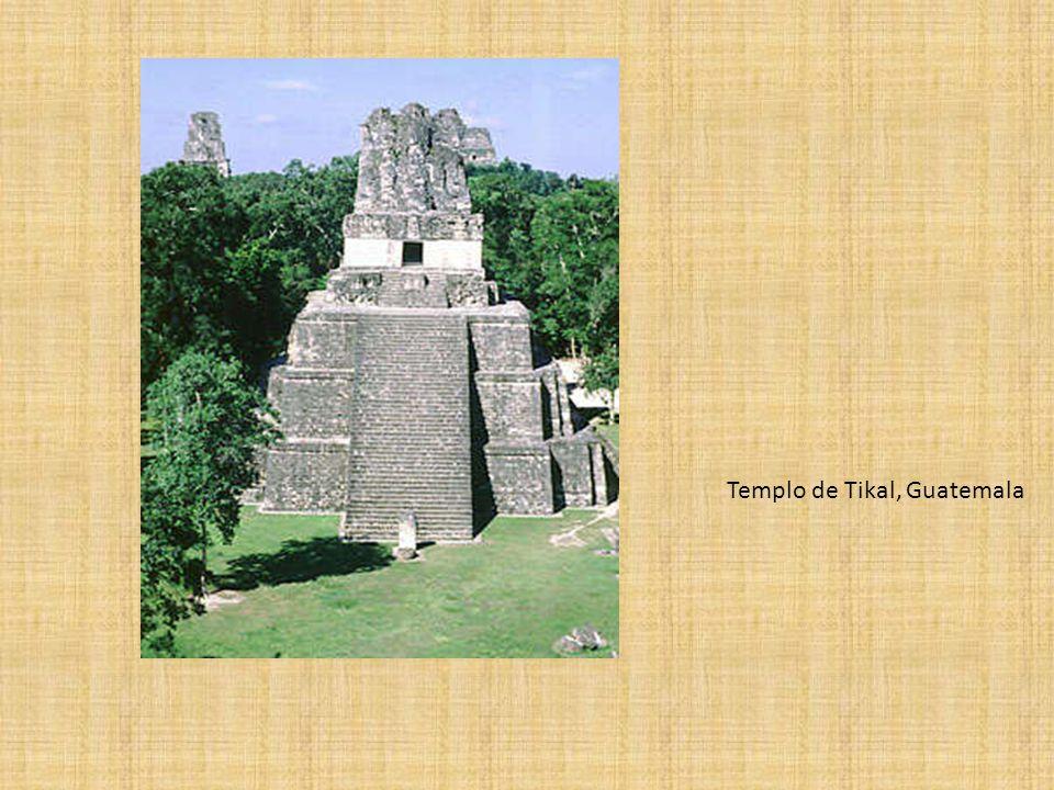 Templo de Tikal, Guatemala