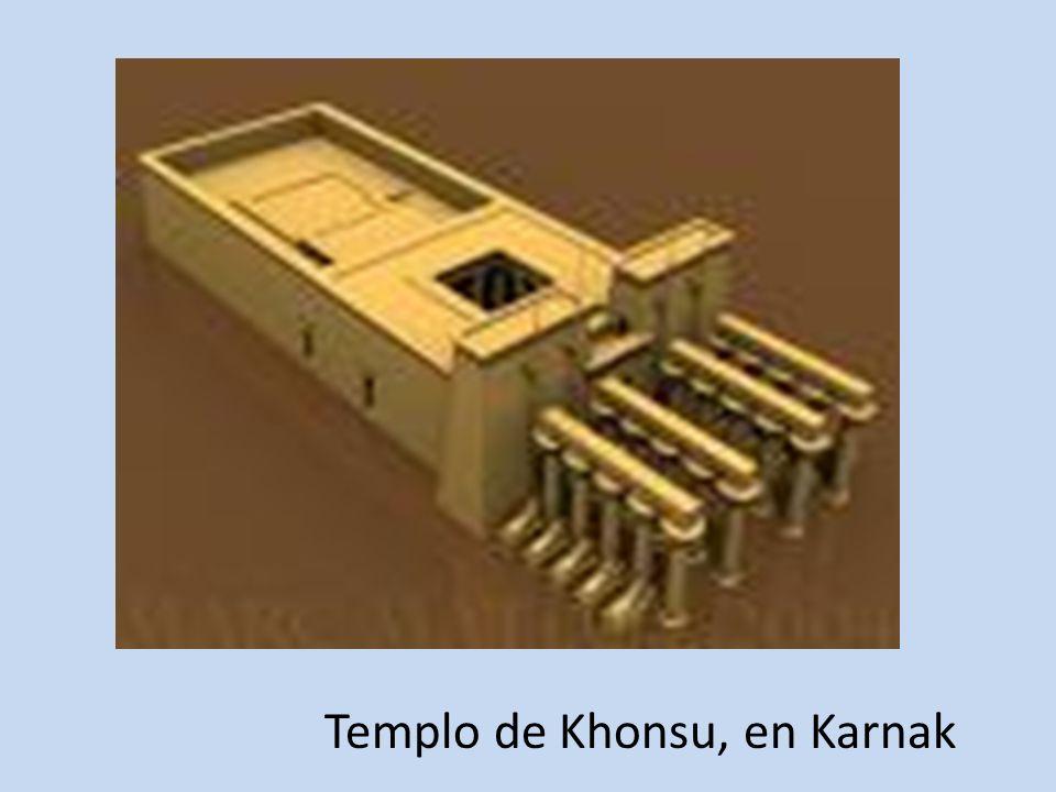 Templo de Khonsu, en Karnak