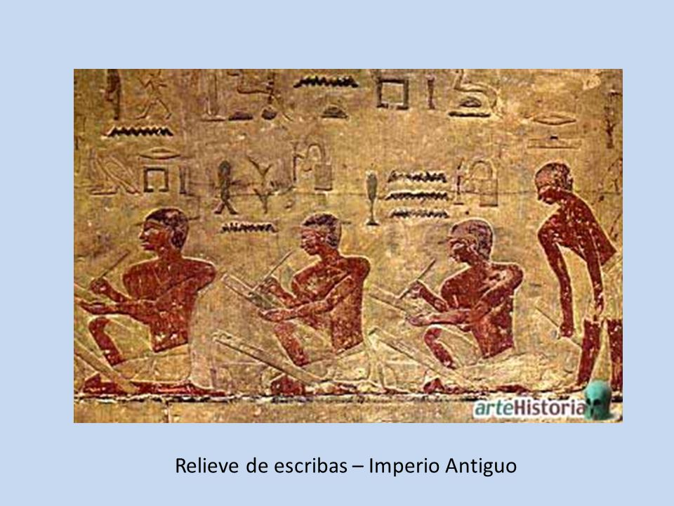 Relieve de escribas – Imperio Antiguo