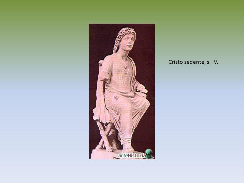 Cristo sedente, s. IV.