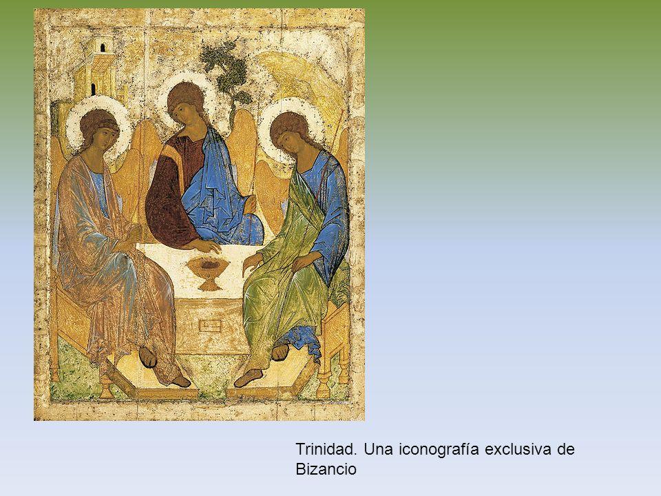 Trinidad. Una iconografía exclusiva de Bizancio