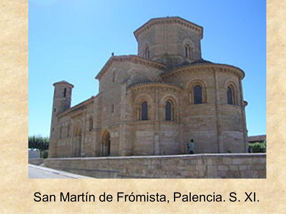San Martín de Frómista, Palencia. S. XI.