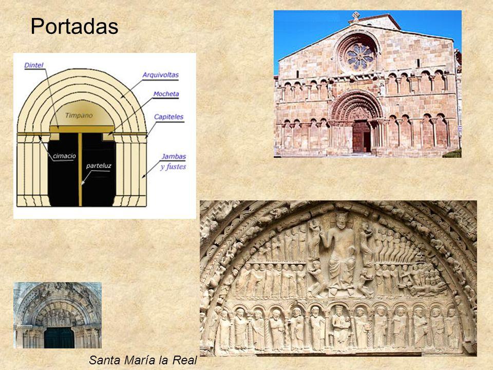 Portadas Santa María la Real